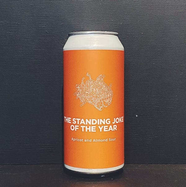 Pomona Island The Standing Joke Of The Year Apricot & Almond Sour Salford vegan