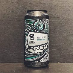 Siren Craft Brew Heart Of Ice Modern Lager Berkshire vegan