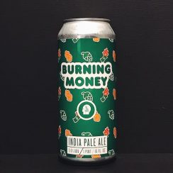 Thin Man Burning Money IPA NYC USA vegan