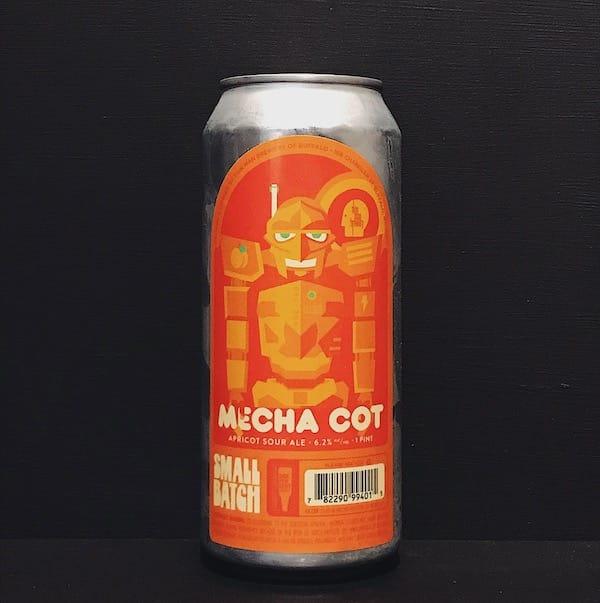Thin Man Mecha Cot Apricot Sour NYC USA vegan