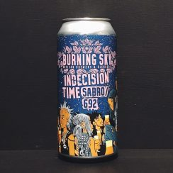Burning Sky Indecision Time Sabro 692 Pale Ale Sussex vegan