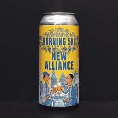 Burning Sky Brasserie De La Senne New Alliance Anglo Belgian Pale Ale Sussex vegan