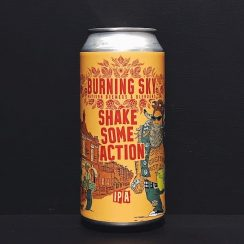 Burning Sky Shake Some Action IPA Sussex vegan