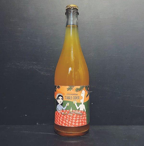 Little Pomona Table Cider 2019 Herefordshire vegan gluten free