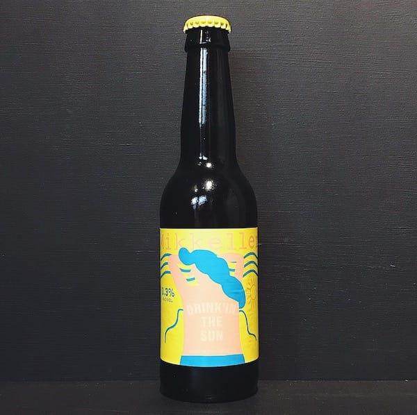 mikkeller drinkin the sun denmark non alcoholic wheat beer vegan