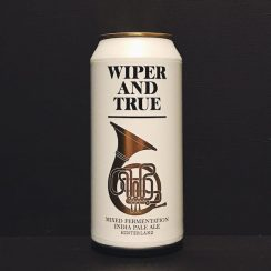 Wiper and True Hinterland Mixed Fermentation IPA Bristol vegan