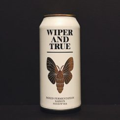 Wiper and True Narrow Sea Mixed Fermentation Saison Bristol vegan
