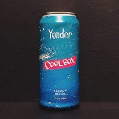 Yonder Coolbox Session Helles Lager Somerset vegan