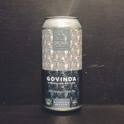 Cheshire Brewhouse Govinda 1843 Heritage English IPA vegan