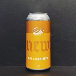 Newbarns Oat Lager Scotland vegan
