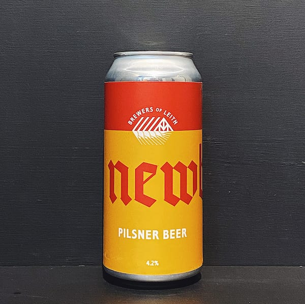 Newbarns Pilsner Beer Scotland vegan