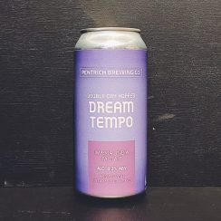 Pentrich Double Dry Hopped Dream Tempo IIPA Derbyshire vegan