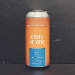 Pentrich Gang Of One IPA Derbyshire vegan