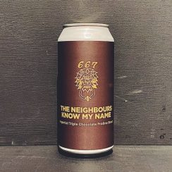 Pomona Island The Neighbours Know My Name Imperial Stout Salford vegan