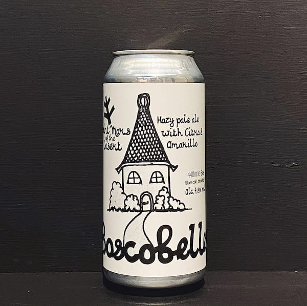St Mars of the Desert Boscobelle New England Pale Ale Sheffield vegan