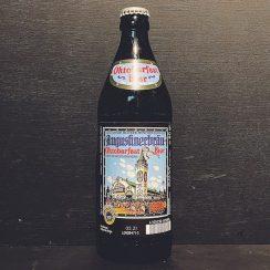 Augustiner Brau Oktoberfest Bier Marzen Lager Germany vegan