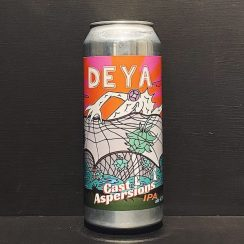 Deya Cast Aspersions IPA Cheltenham vegan