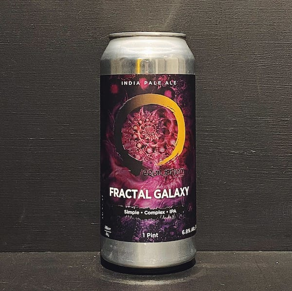 Equilibrium Fractal Galaxy IPA NYC USA vegan