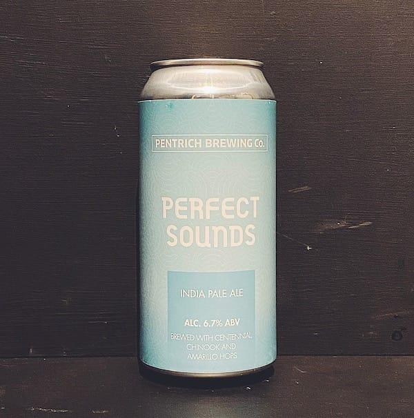 Pentrich Perfect Sounds IPA Derbyshire vegan