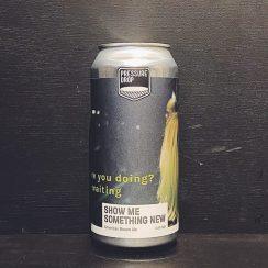 Pressure Drop Show Me Something New American Brown Ale London vegan