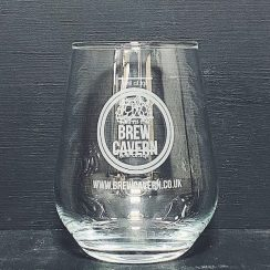 Brew Cavern 2/3rd Pint Allegra Glass Nottingham
