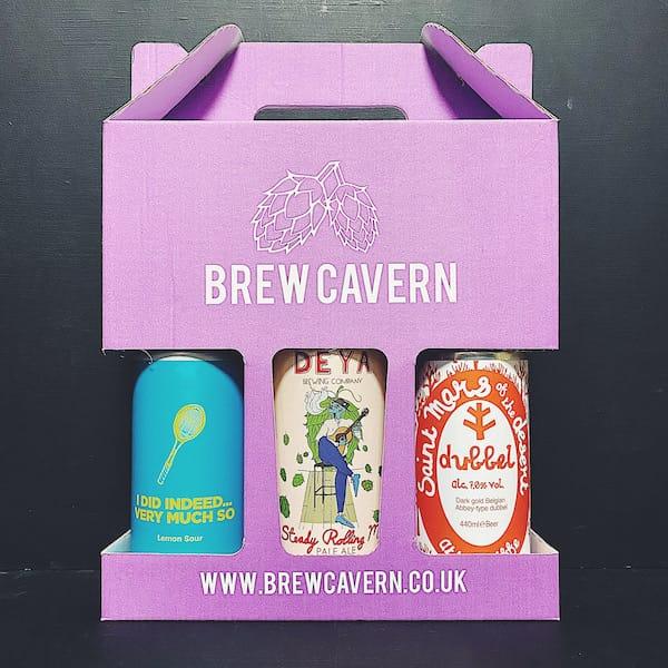 Brew Cavern Mixed 3 Pack - 3 x Mixed Styles Nottingham