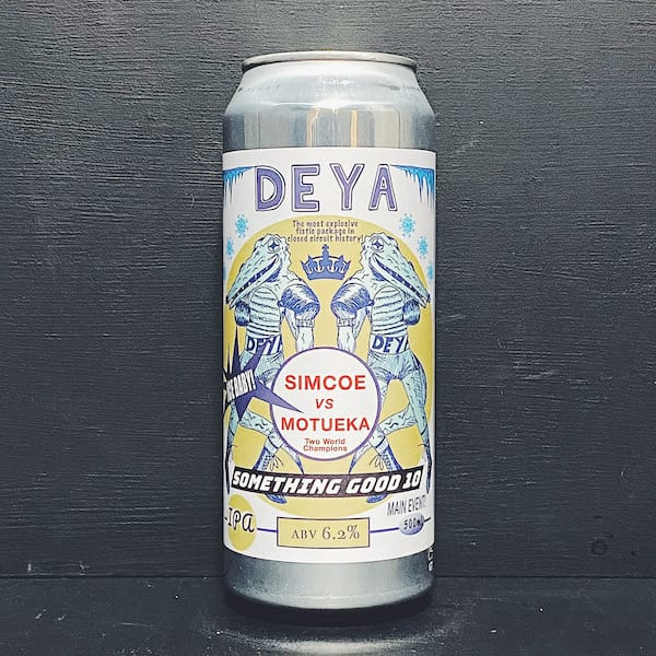 Deya Something Good 10 IPA Cheltenham vegan