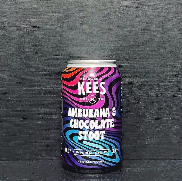 Kees Amburana & Chocolate Stout Netherlands vegan