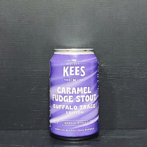Kees Caramel Fudge Stout Buffalo Trace Edition Netherlands vegan