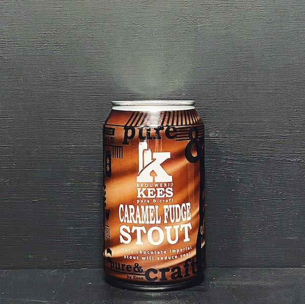 Kees Caramel Fudge Imperial Stout Netherlands Vegan friendly