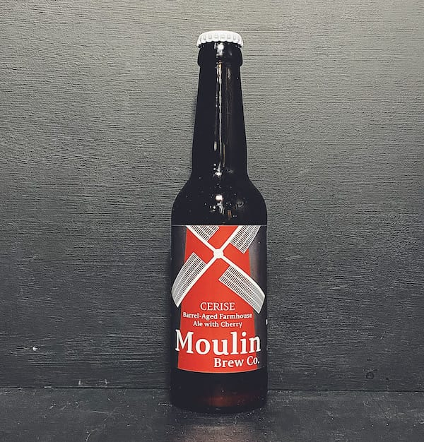 Moulin Brew Co Cerise Cherry Farmhouse Sour Nottingham