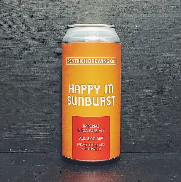 Pentrich Happy In Sunburst IIPA Derbyshire vegan