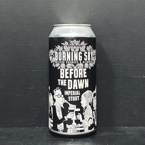 Burning Sky Before The Dawn Imperial Stout Sussex vegan