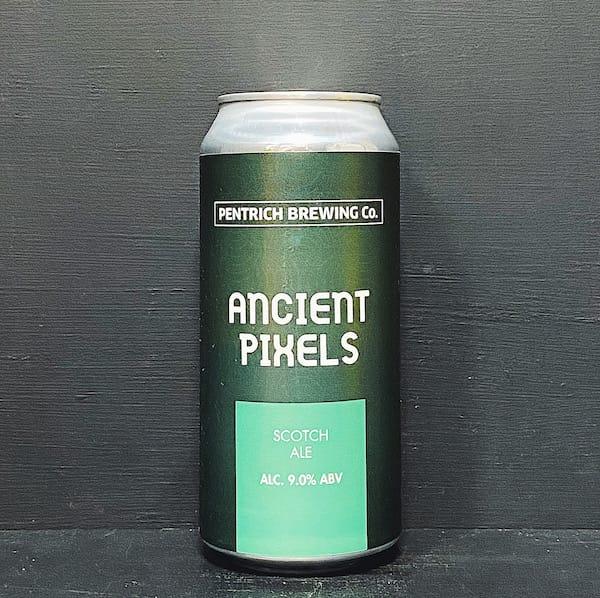Pentrich Ancient Pixels Scotch Ale Derbyshire vegan