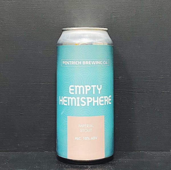 Pentrich Empty Hemisphere Imperial Stout Derbyshire vegan