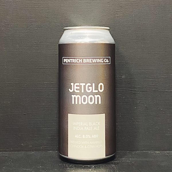 Pentrich Jetglo Moon Imperial Black IPA Derbyshire vegan