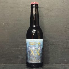 Sori Brewing Laudatur XX Baltic Porter Barley Wine Blend Estonia vegan
