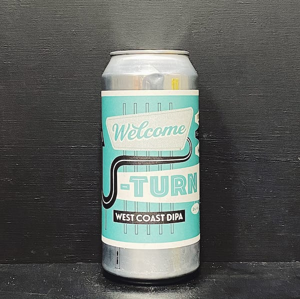 Verdant Welcome U-Turn West Coast DIPA Cornwall vegan