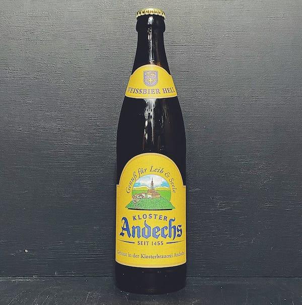 Andechs Weissbier Hell Germany vegan