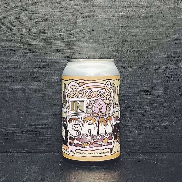 Amundsen Dessert In A Can Marzipan Chocolate Shortbread Imperial Stout Norway