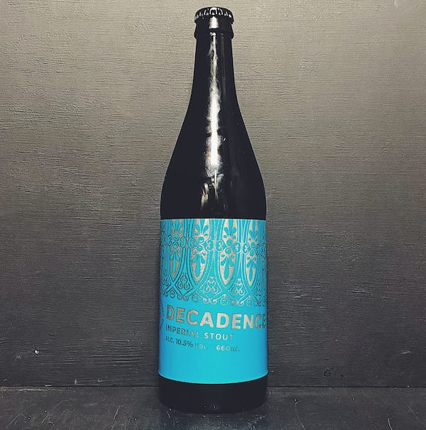 Marble Decadence 2020 Imperial Stout Manchester vegan