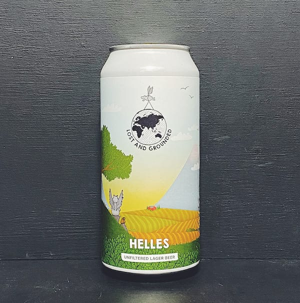 Lost & Grounded Helles Lager Bristol vegan