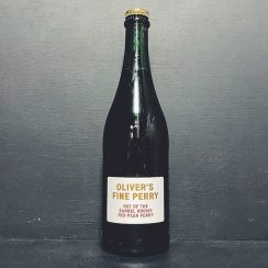 Olivers Out Of The Barrel Rooms Red Pear Perry Herefordshire vegan gluten free
