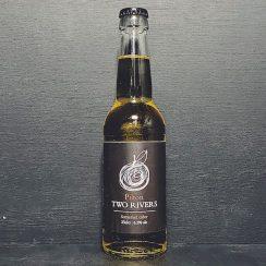 Pilton Two Rivers 2018 Sparkling Dry Keeved Fine Cider. Somerset vegan gluten free