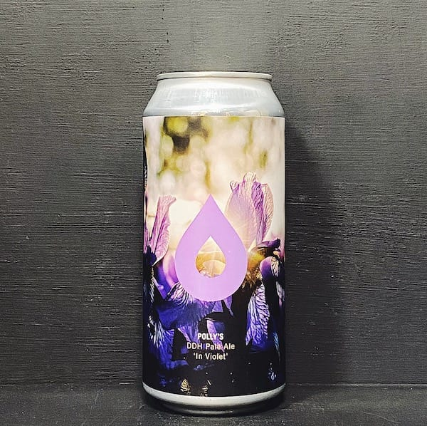 Pollys Brew Co In Violet DDH Pale Wales vegan
