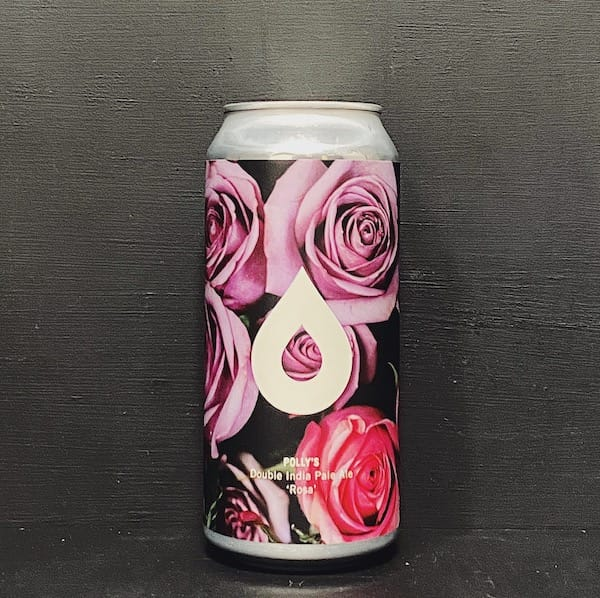 Pollys Brew Co Rosa Double India Pale Ale Wales vegan