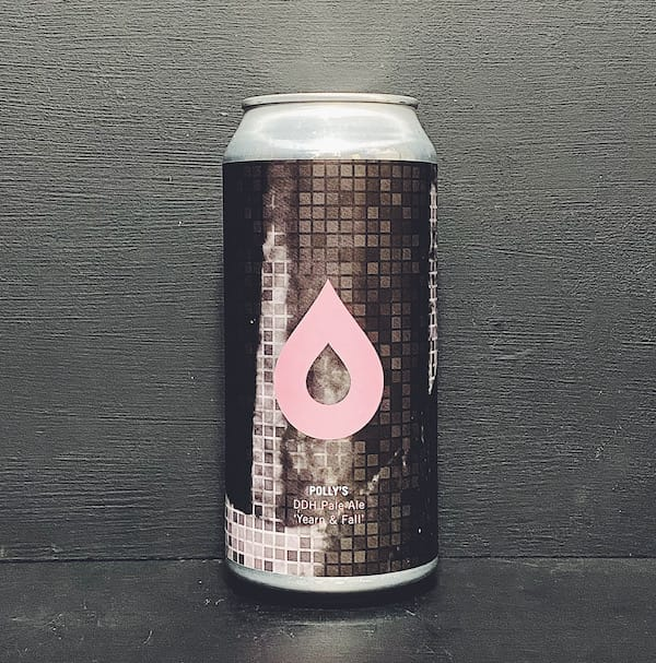 Pollys Brew Co Yearn & Fall DDH Pale Wales vegan