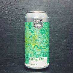 Pressure Drop Capital Ring NEIPA London vegan