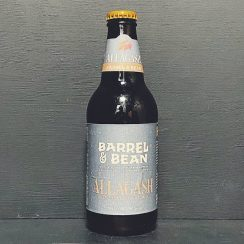 Allagash Barrel & Bean Bourbon Barrel Aged Coffee Tripel USA vegan