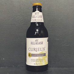 Allagash Curieux Bourbon Barrel Aged Tripel USA vegan